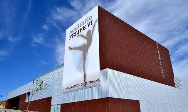 Auditorio de Estepona Felipe VI música arte cultura