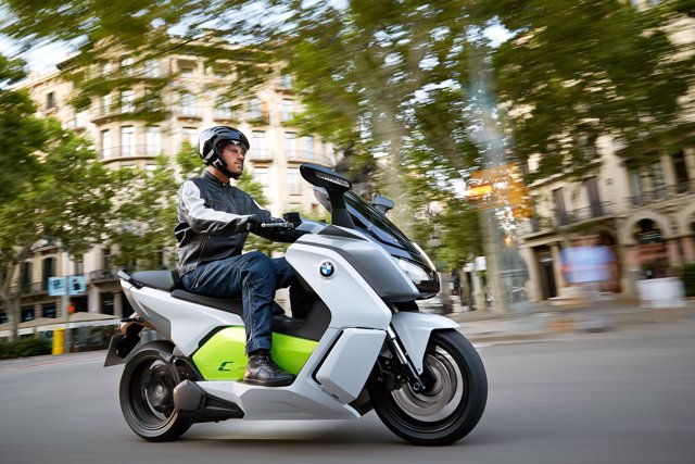 Motocicleta, moto, maxiscooter de BMW Motorrad