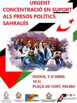 Concentración Amigos del Pueblo Saharaui