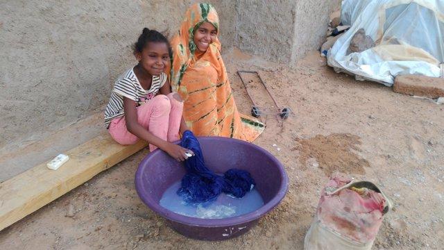 Sahara, niños
