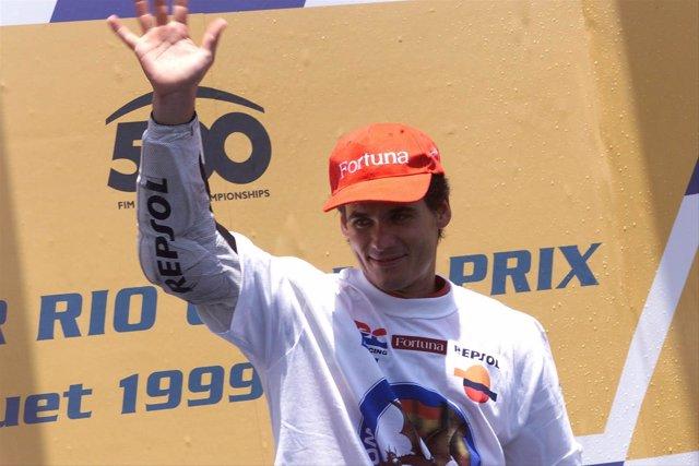 Álex Crivillé gana un Gran Premio en 1999