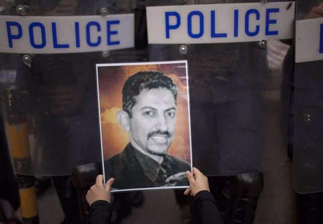 Foto del activista Abdulhadi al Jawaja