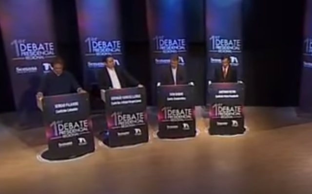 Debate electoral Colombia 3 abril