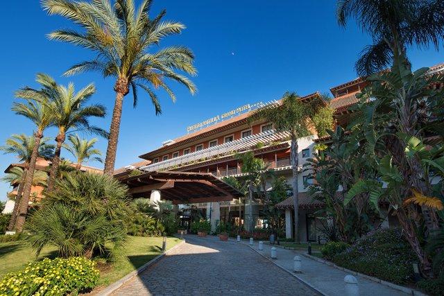 Hotel Puerto Antilla en Islantilla (Huelva).