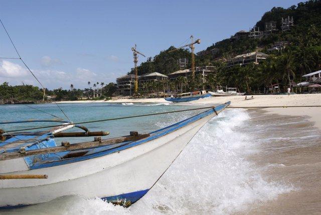 Isla de Boracay, en Filipinas