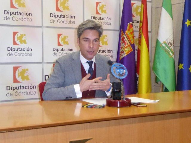 El portavoz del PP en la Diputación de Córdoba, Andrés Lorite