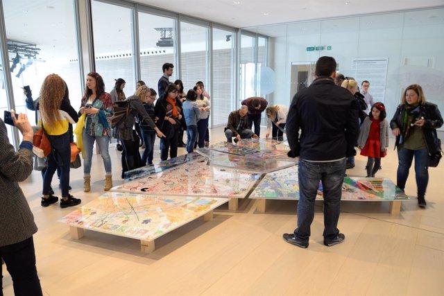 Exposición 'Somos creativos XII. Cartografías creativas' en el Centro Botín