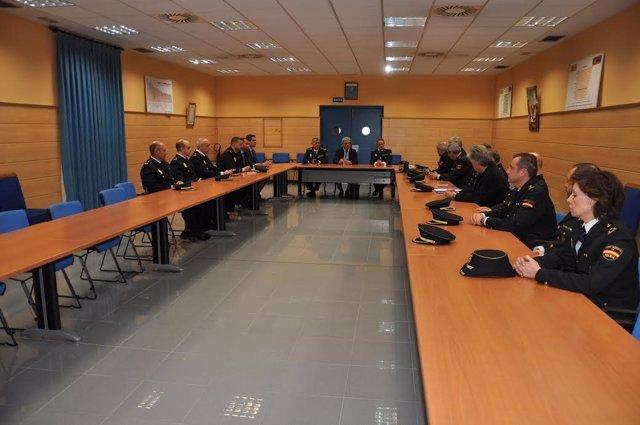 Reunión de Marín con la Policía