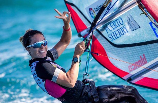 Blanca Manchón en el trofeo Princesa Sofía Iberostar