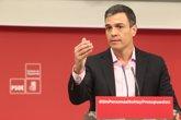 Foto: Pedro Sánchez apoya la moción de censura del PSOE madrileño contra Cifuentes