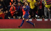 Foto: Piqué dedica su gol a Shakira, un gesto más para acallar los rumores