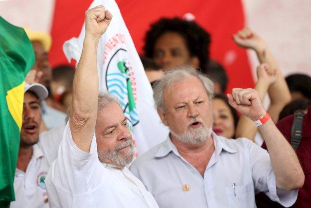 El expresidente brasileño, Luiz Inácio 'Lula' da Silva