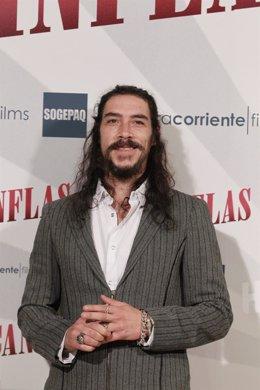 Photocall con Óscar Jaenada por la película Cantinflas