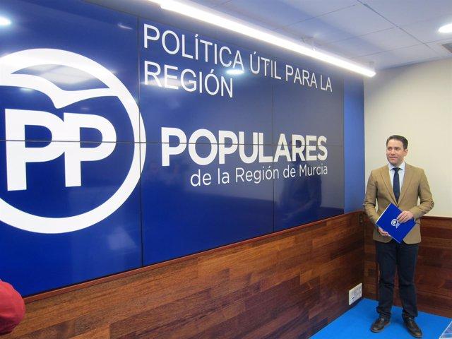 El Portavoz Adjunto Del PP En El Congreso, Teodoro García, En La Rueda