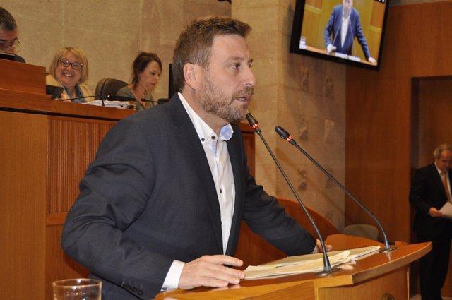El consejero de Vertebración Territorial, José Luis Soro