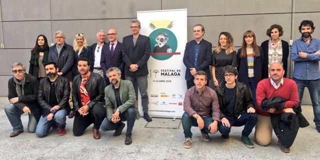 Presentación en Madrid del Festival de Cine de Málaga