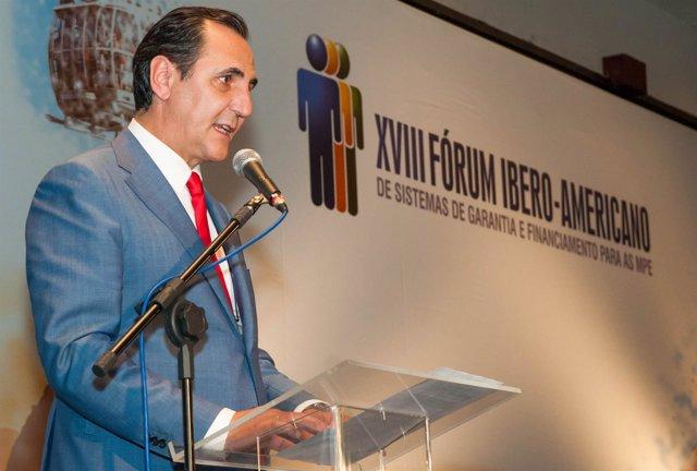 El presidente de Iberaval, José Rolando Álvarez