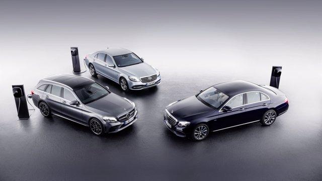 Modelos híbridos de Mercedes-Benz