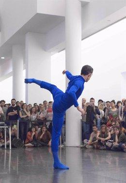 El artista, coreógrafo y bailarín contemporáneo Manuel Rodríguez