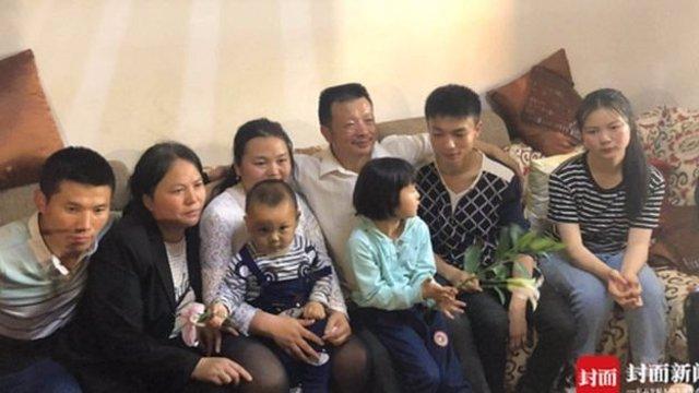 Reencuentro de familias