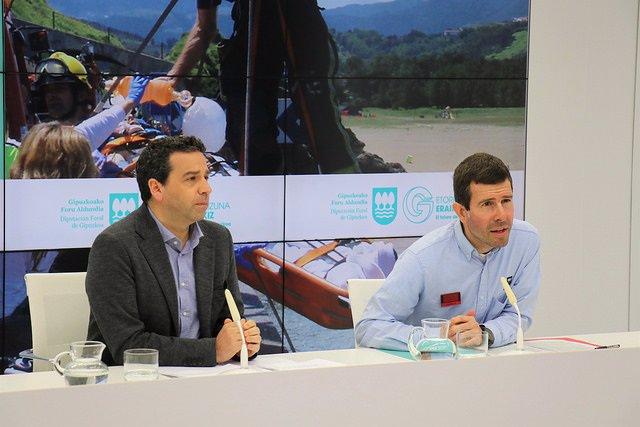 Imanol Lasa y Arkaitz Orbegozo.