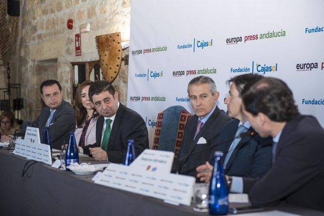 Francisco Reyes interviene en el desayuno de Europa Press Andalucía.