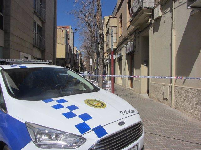 Coche de la Policía Local de Sabadell