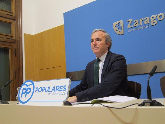 Jorge Azcón, concejal del PP