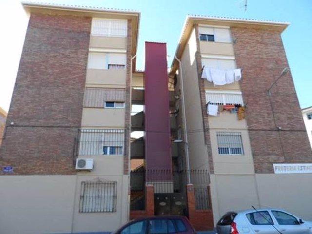 Bloques rehabiltiados por IMV de Málaga