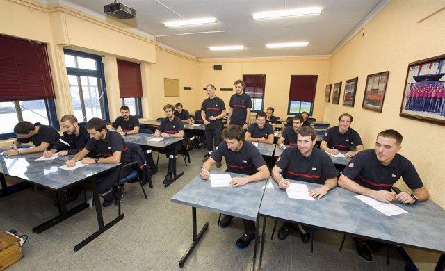 Participantes en uno de los cursos de la Escuela de Seguridad y Emergencias
