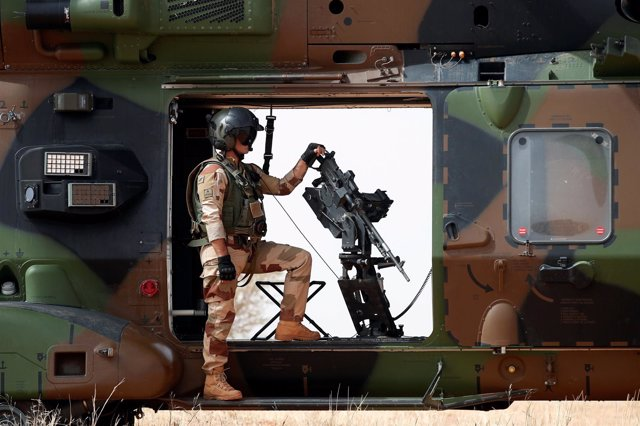 Militar francés en Malí