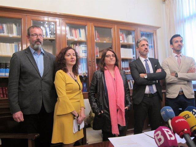 Asociaciones de jueces y fiscales plantean reivindicaciones al Ministerio