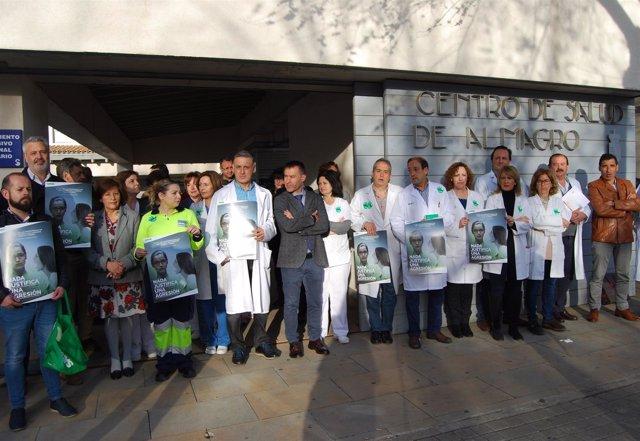 Concentración Satse en Almagro