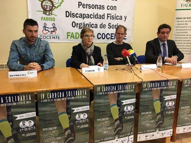 Rubén Andrés, Berrojo, Abel Antón y Jesús Marino 05-04-2018