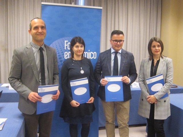 Presentación de un informe del Foro Económico de Galicia de turismo rural. 2018.