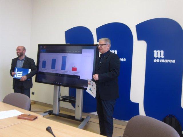 Manuel Lago y Luís Villares (En Marea) presentan su análisis de los PGE