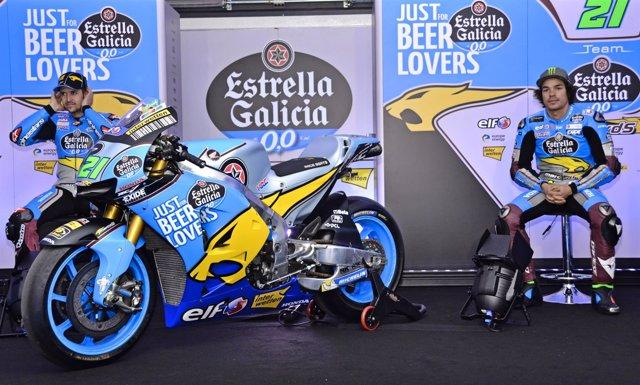 Franco Morbidelli y Thomas Luthi, campeones mundiales de Moto2