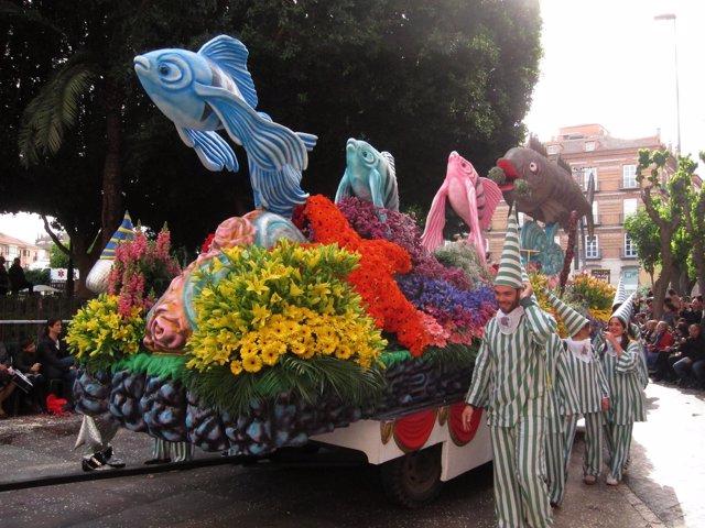 Desfile Batalla de las Flores, Fiestas de Primavera, Sardina