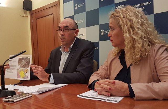 Eudardo Zorilla  y Reme Ramos de Málaga para la Gente