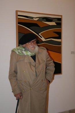 El artista Félix Cuadrado Lomas.