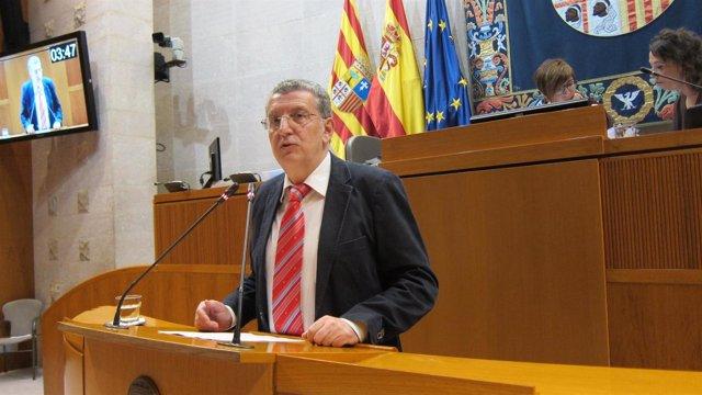 Sebastián Celaya, consejero de Sanidad