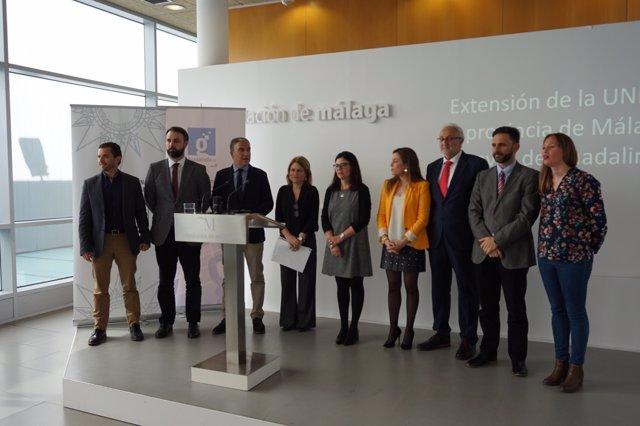 Convenio UNEd se extenderá a nueve municipios malagueños