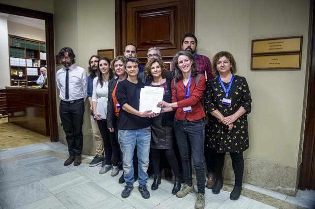Unidos Podemos-En Comú-En Marea registra una ley para regular los alquileres