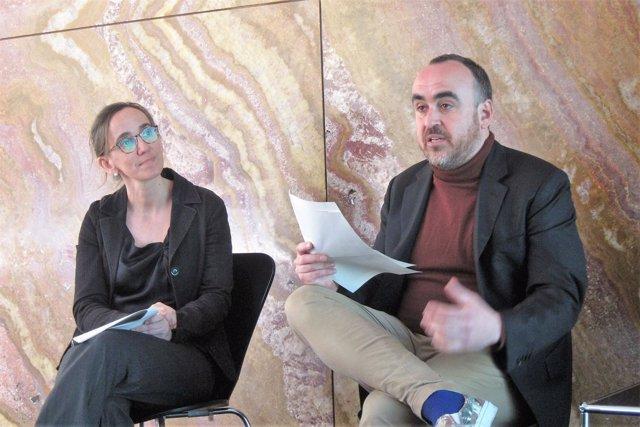 Anna Ramos e Ivan Blasi de la Fundación Mies van der Rohe