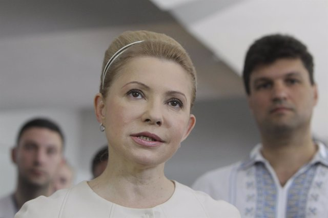 La ex primera ministra ucraniana Yulia Timoshenko