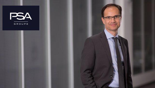 Alexandre Guignard, responsable de Vehículos de Bajas Emisiones de PSA