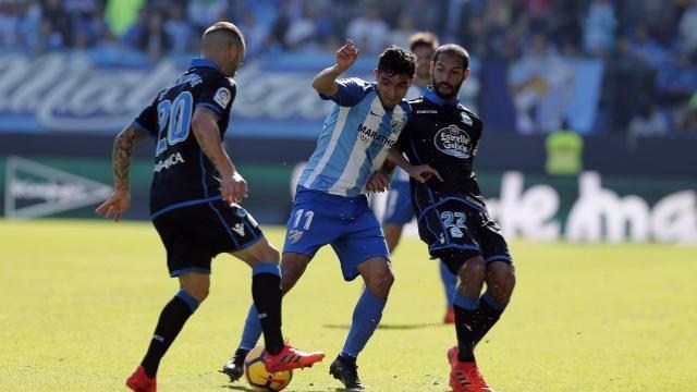 Deportivo - Málaga en Riazor