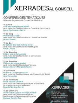 Xerrades calendari A4 presidencia