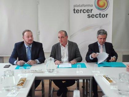 La Plataforma del Tercer Sector firma un convenio para impulsar la vivienda social y rehabilitación en España