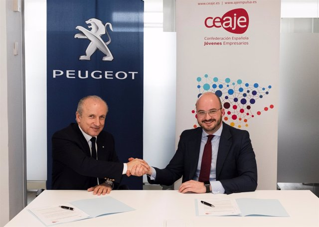 Peugeot y Ceaje prolongan su acuerdo de colaboración